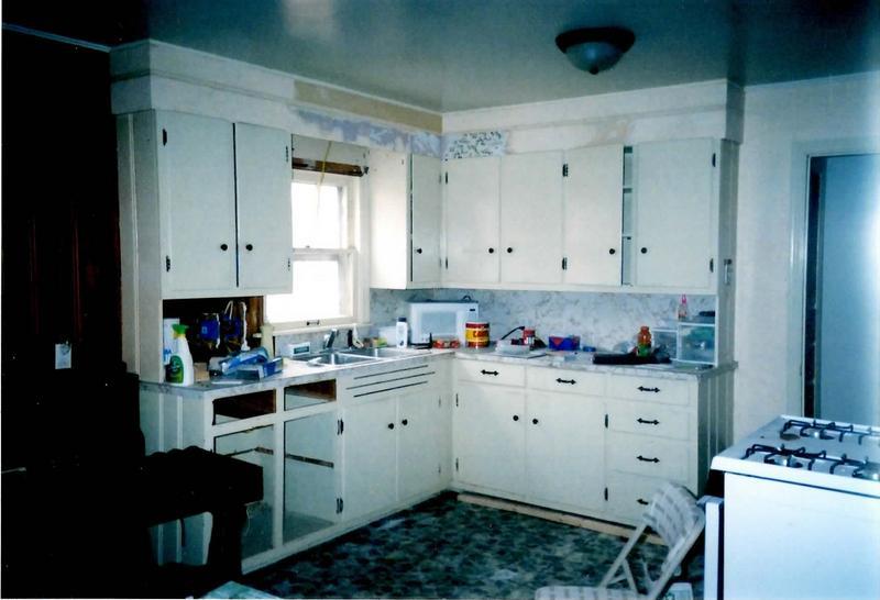 Gray Flat Front Kitchen Cabinets De Ideas